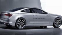 Renault Talisman Coupe render