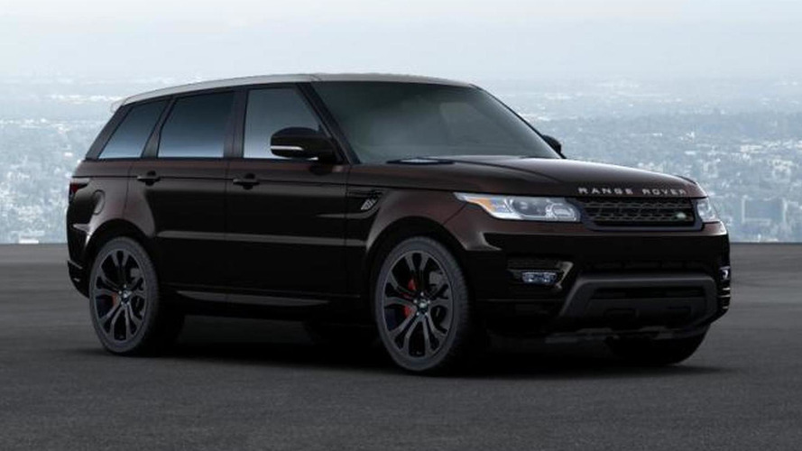 2014 Range Rover online configurator available, starts from 63,495 USD