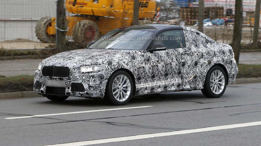 2013 BMW 2-Series Coupe first spy shots
