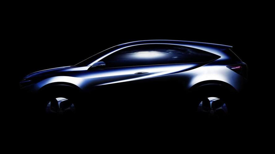 Honda Urban SUV concept teased for 2013 Detroit debut