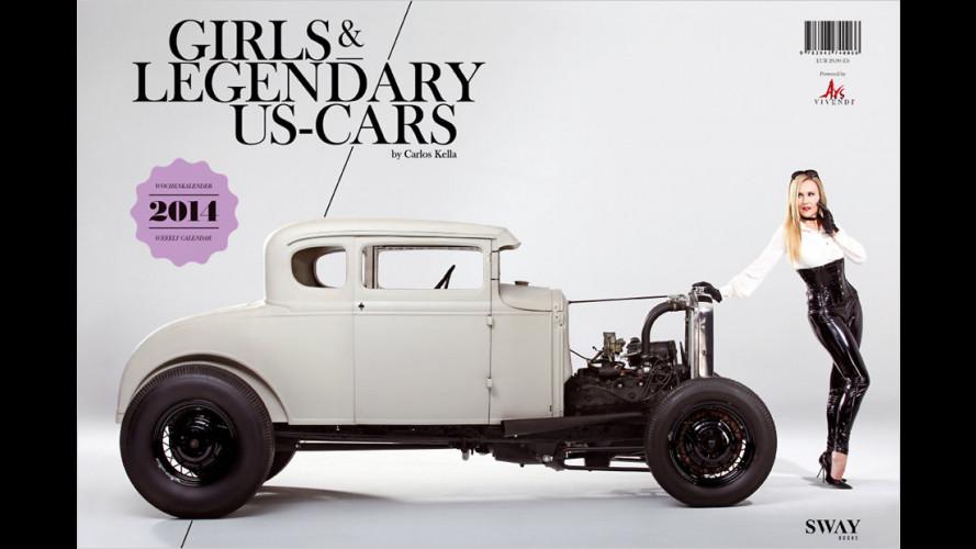 Girls & legendary US-Cars 2014 ist da