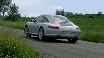 Porsche 911 Targa Spy Photo