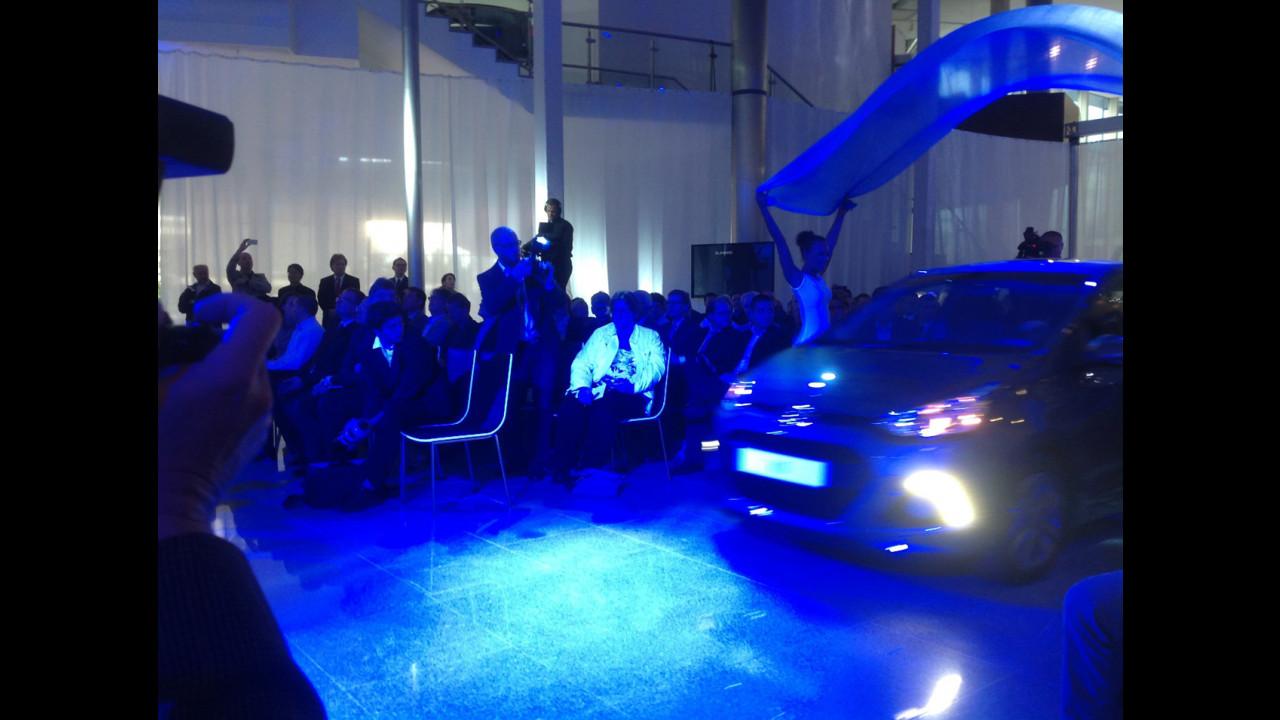 Nuova Hyundai i10 al Salone di Francoforte