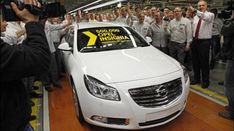Opel festeggia la 500.000a Insignia prodotta a Russelsheim