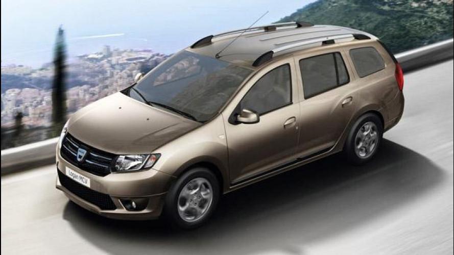 Nuova Dacia Logan MCV, i prezzi