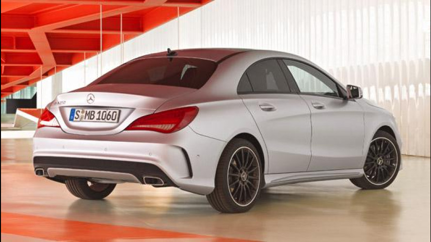 Mercedes Classe CLA: i prezzi