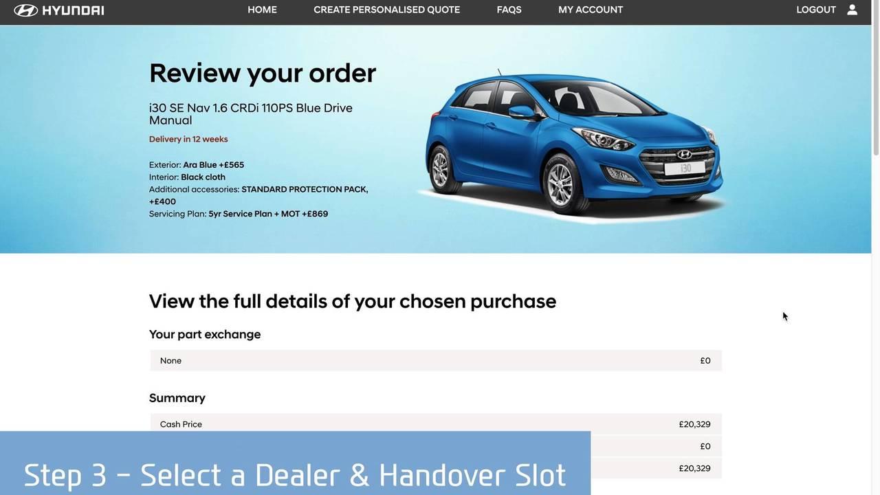 Hyundai's Click to Buy scheme