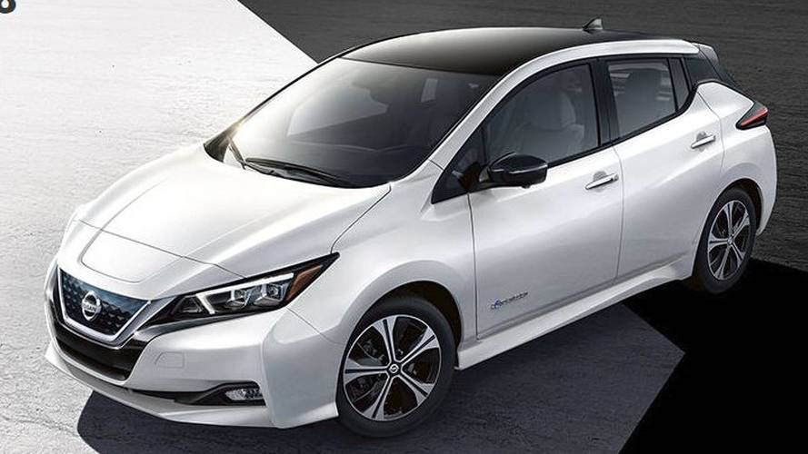 2018 Nissan Leaf Configurator Comes Online, Build Yours Now