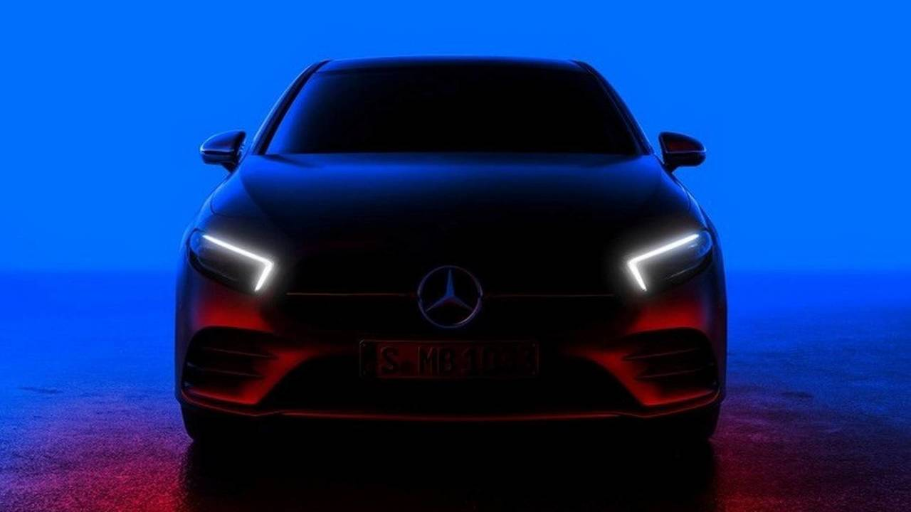 2018 Mercedes A-Serisi teaser