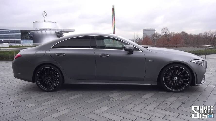 First Proper Look At The All-New Mercedes CLS
