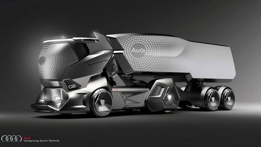 Ilyen lenne a jövő Audi kamionja?