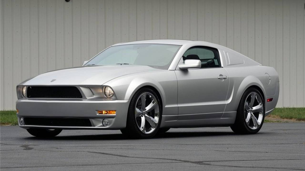 2009 ford mustang iacocca 45th anniversary edition | motor1 photos