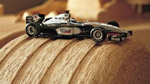 Wooden tyre and model