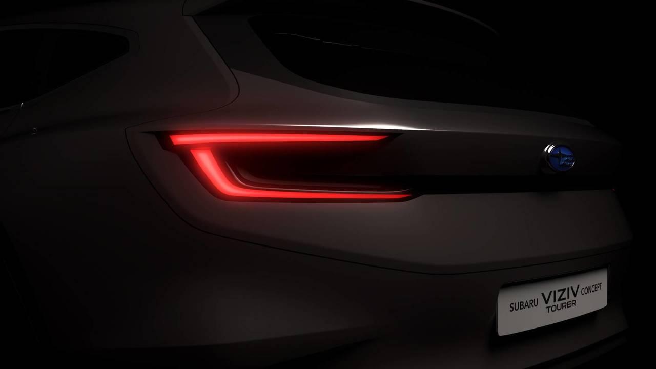 Subaru Viziv Concept Tourer Teaser'ı