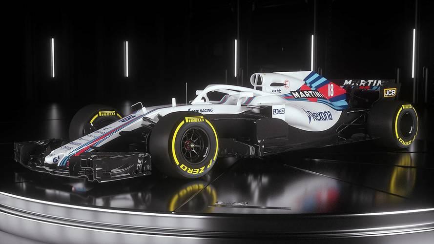 Williams présente la FW41 pour 2018