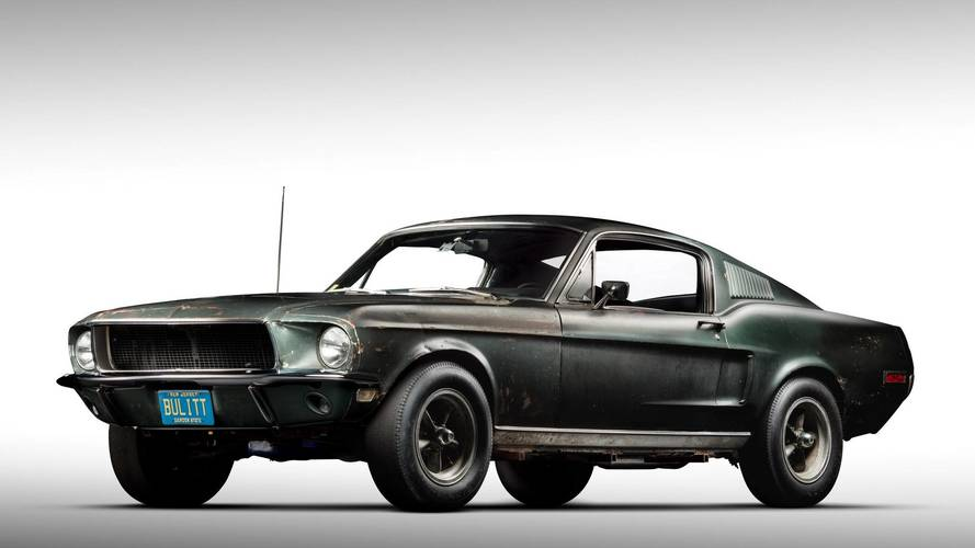 1968 Ford Mustang Bullitt original movie car