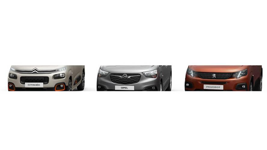 Yeni Citroen, Opel ve Peugeot minibüslerinin teaser'ı geldi