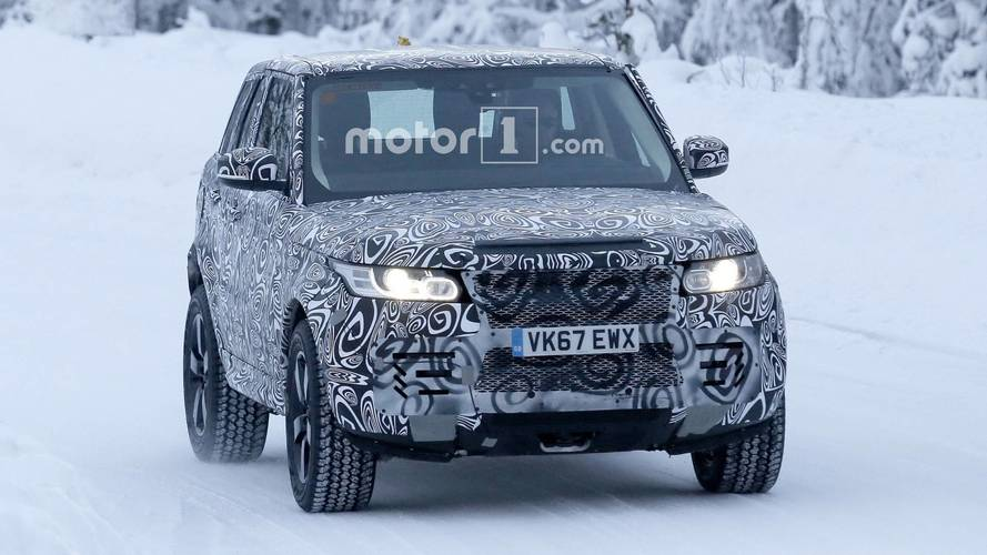 Land Rover Defender - Flagra