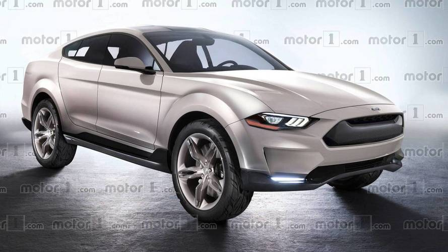 Así podría ser un SUV basado en el Ford Mustang