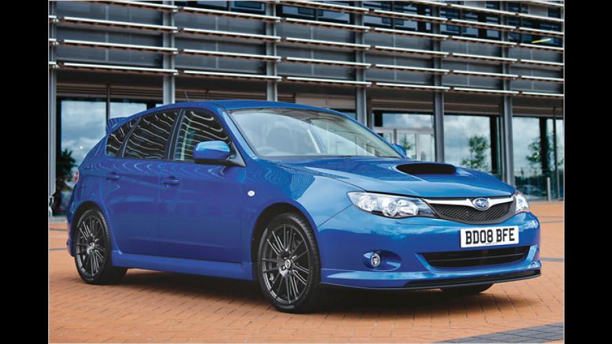 Subaru England bringt Spezial-Editionen des Impreza WRX