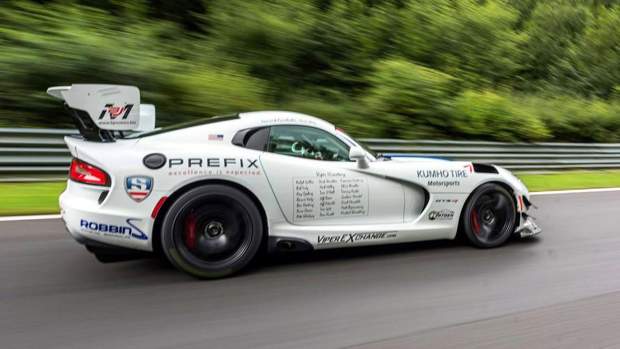 Dodge Viper ACR-E, al asalto del récord de Nürburgring