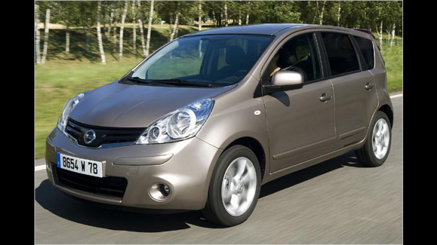 Neu gestimmt: Nissan überarbeitet den Note