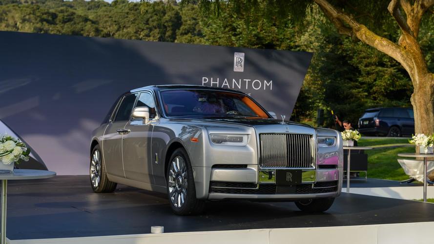 2017 Rolls-Royce Phantom Monterey'de etkiledi