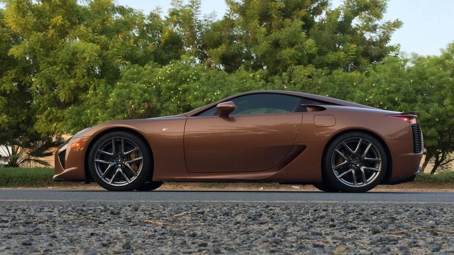 Todavía puedes comprarte un Lexus LFA nuevo