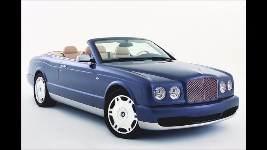 Bentley knüpft an Traditionen: Cabrio heißt wieder Azure
