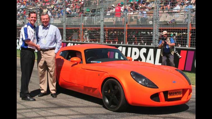 Marcos TSO GT: Brit-Renner startet in Australien
