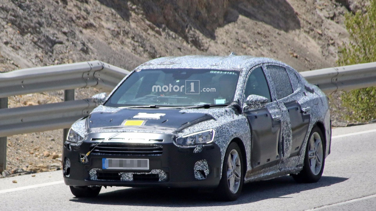 2019 Ford Focus Sedan spy photo & New Ford Focus Production To Kick Off March 2018? markmcfarlin.com