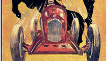 1933 Ferrari poster
