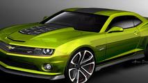 Chevrolet Camaro Hot Wheels Concept for SEMA 01.11.2011