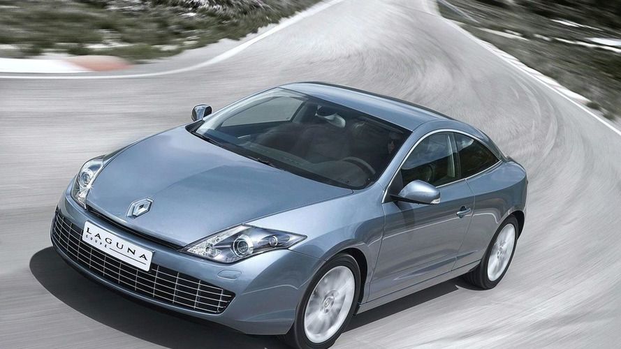 Renault Laguna Coupe Officially Unveiled at Cannes Film Festival