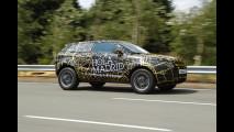 Range Rover Evoque: i prototipi