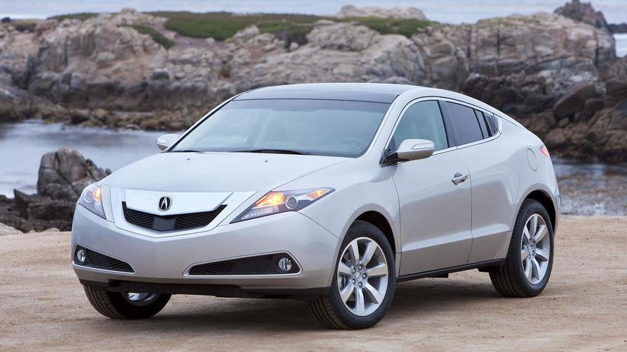 2013 Acura ZDX facelift announced