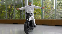 Honda self-balancing motorcycle