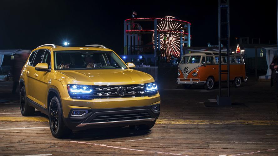 2018 Volkswagen Atlas üç sıra koltuk ve iki motorla tanıtıldı