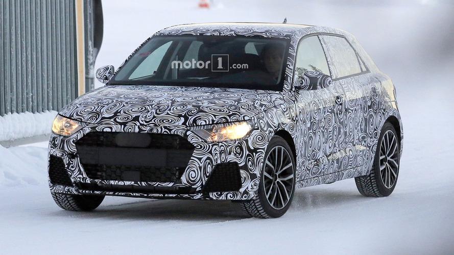 Flagra - Audi A1 2019 é visto pela primeira vez
