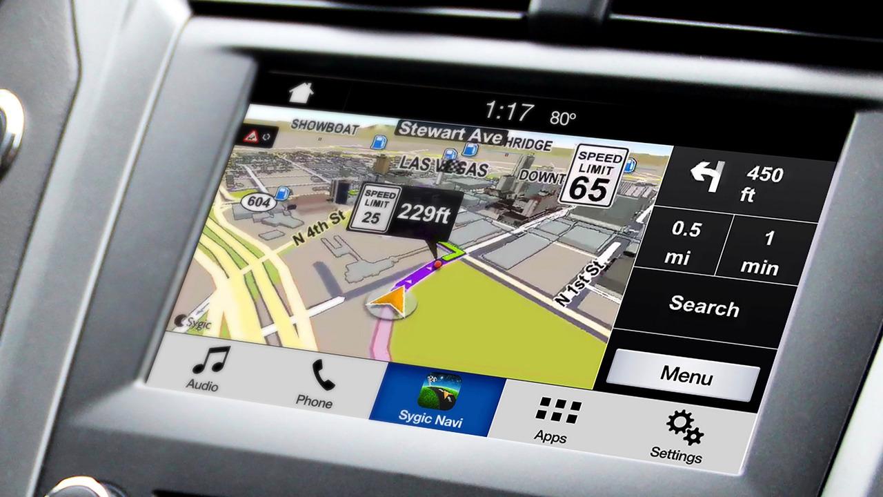 Ford SYNC 3 Sygic Navigasyon