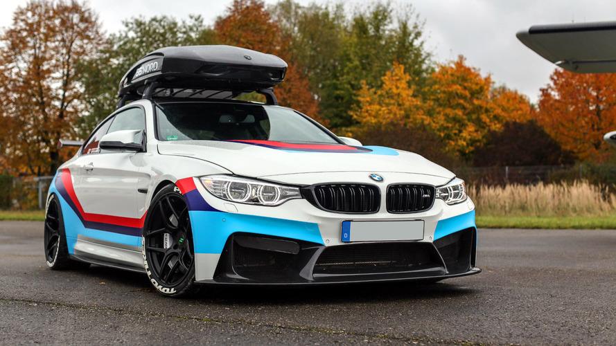 700 beygirlik BMW M4 adeta port bagajlı bir GT4