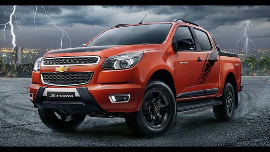 Chevrolet Colorado (S10) estreia edição High Country Storm na Tailândia