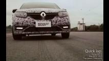 Veja o esportivo Renault Sandero RS a quase 200 km/h na pista - vídeo