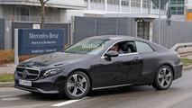 2018 Mercedes E Sınıfı Coupe casus fotoğrafları