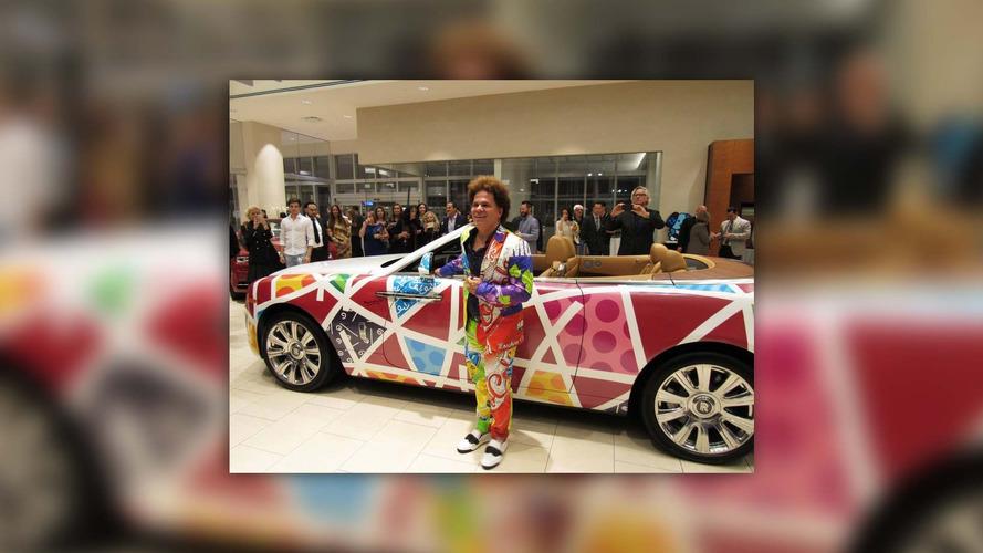 Art Car - Une Rolls-Royce Dawn haute en couleur