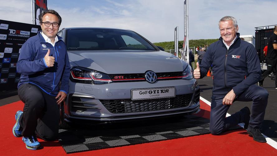 El Volkswagen Golf GTI TCR Concept 2018 se deja ver en Zandvoort