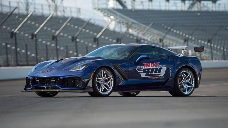 2018 Chevrolet Corvette ZR1 Pace Car