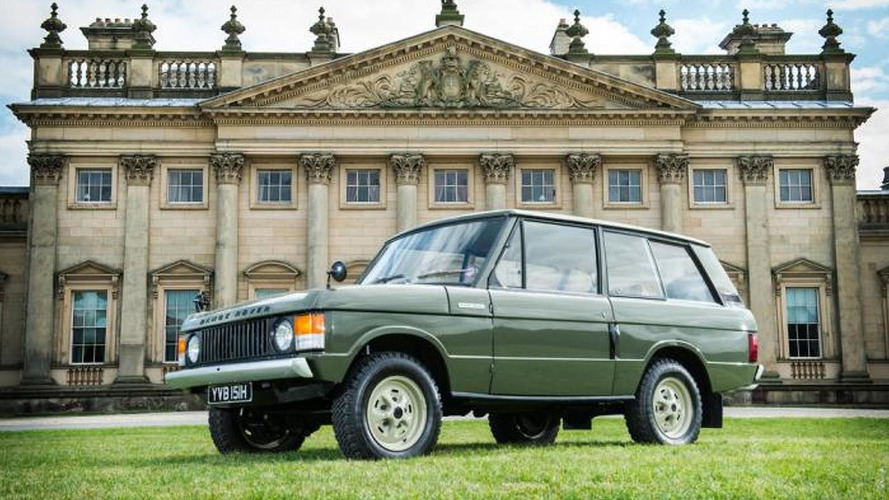 First Range Rover going up for auction