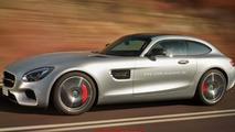 Mercedes-AMG GT Shooting Brake render