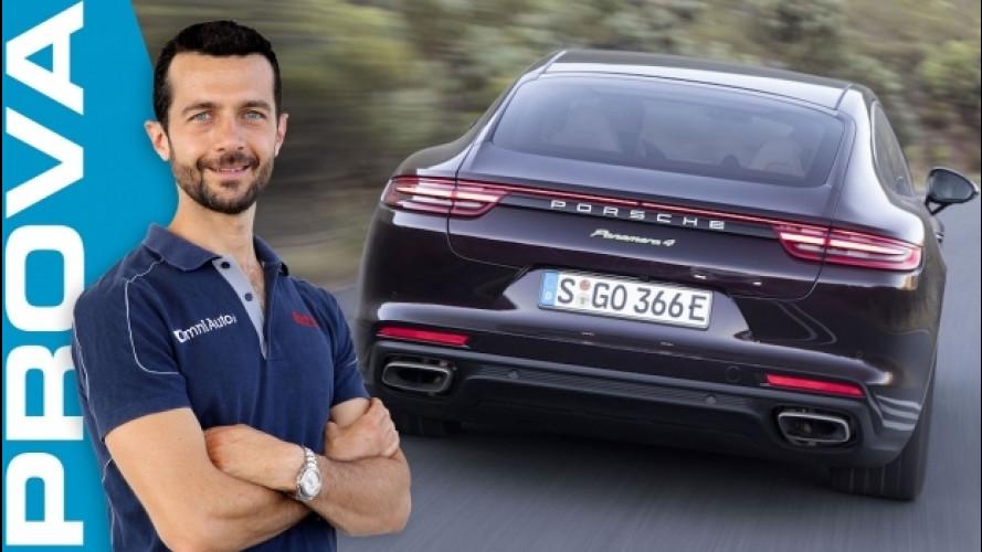 Porsche Panamera 4 E-Hybrid, veloce più che sportiva [VIDEO]